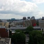 Panorama View from Pool Deck at Montreal Hilton Garden Inn