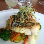Mi pescado del dia, como yo lo quiero ligero y sin grasa