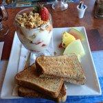 """Petit-déjeuner """"santé"""" de l'hôtel"""