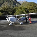 """At Milford Sound """"airport"""""""