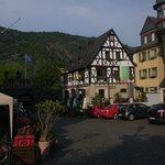Weinhaus Weiler, vom Marktplatz gesehen
