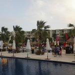 Mexican night around the pool