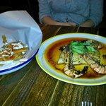 Jerk Pit Prawns and Chilli Fried Squid