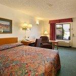 Standard Queen Bed Room with MicroFridge