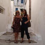 In Ostuni with Ylenia