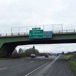 N. Wilsonville Exit sign to Super 8 Wilsonville