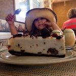 Gluten free cheesecake with an almond flour base!