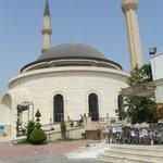 nieuwe moskee van buitenaf