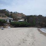 Grand Anse Beach below hotel