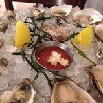 Oyster degustation