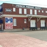 Oklahoma Music Hall of Fame in the Frisco Railroad Freight Depot