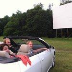drive - in theatre / auto cine