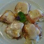 Gnocchetti di semolino con pancetta ed Asiago