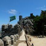 Стены замка мавров