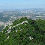 Вид на замок мавров