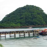 Muelle de Isla Taboga