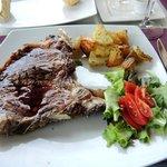 dé specialiteit : bistecca fiorentino ! T-bone van 450 gram!