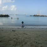 Вид на пляже