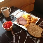 Executive Lounge breakfast