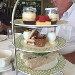 Stunning afternoon tea. Delicious!