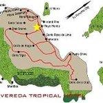 Mapa de isla Taboga
