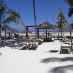 Spiaggia di fronte al Palumbo