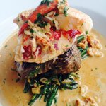 Surf and Turf( lobster and Fillet steak) Delicious