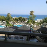 view from the balcony - worth paying extra for the sea view