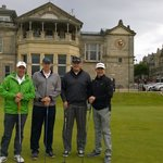 First tee on the Old Course