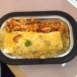 Breakfast burrito smothered. Mmmmmmmmmmm