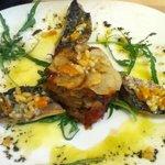 Mackerel and vegetables - very tasty
