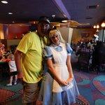 Alice at Goofy's Kitchen