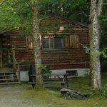 Cabin 7 in summer