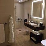 Bathroom - no shaving mirror!