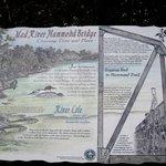 Hammond Trail - bridge informational sign