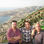 Wissam S. AlRashied, Bissam M., and Mustafaa S.  @ Our Lady of Haressa