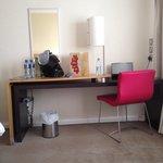 Desk in exec room