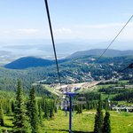 Top of Schweitzer Mountain Resort