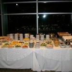Impresionante desayuno buffet