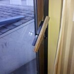 Broken door handle