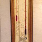 Thermometer in hotel!