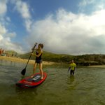 A Stand up Paddle Class