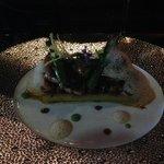 Foie Gras with mushrooms