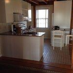 Kitchen of Seabreeze cottage