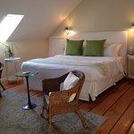 Upstairs main bedroom Seabreeze Cottage