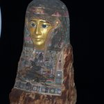 Female mummy mask