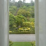 Bantry House - a view through the currtains