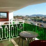 balcony of room