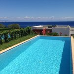 Junior suit private pool with sea view