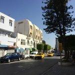 Hammamet - modern Arabien architecture